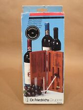 Dr. Friedrichs Gruppe Wine Thermometer 339700 • Germany • Connoisseurs • Unused