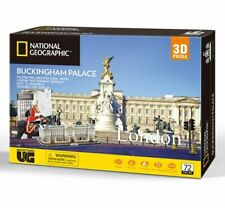 London BUCKINGHAM PALACE National Geographic 3D Jigsaw PUZZLE 72 Pieces