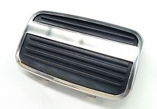 FORD ESCORT MK2 GHIA CAPRI MK1 AUTOMATIC BRAKE PEDAL RUBBER PAD & STAINLESS TRIM
