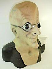 Morbid Industries Doctor Nefarious Adult Overhead Latex Mask # 36029 NWT