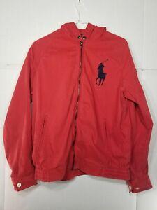 Polo Ralph Lauren Big Pony Boys Zip Up Hoodie Size Xl (18-20)