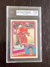 1984-85 OPC Steve Yzerman Rookie Card #67 Graded 7.5