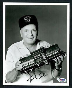 FRANK SINATRA Signed Autographed 8 x 10 Photo - PSA LOA  Lionel Train Notre Dame