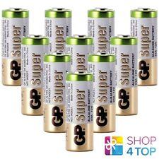 10 GP SUPER ALKALINE BATTERY GP23AF-2 A23 MN21 V23GA 12V NO MERCURY BULK NEW