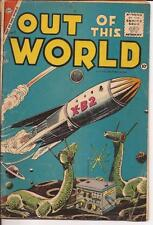 Charlton Out Of This World #1 Premiere Issue Steve Ditko Sci-Fi Action Adventure