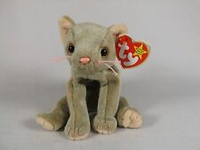 "RARE ""SCAT"" CAT KITTEN- 4 ERRORS-TY BEANIE BABY-ADULT OWNED-EX COND"