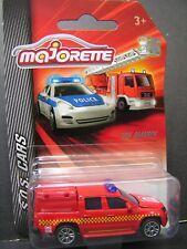 Majorette Metal DieCast car - VW Amarok Fire Truck