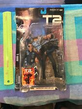 McFarlane Toys Movie Maniacs 4 Terminator 2 T-1000 Action Figure Judgement Day