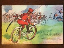 1910s Corbin Coaster Brake Bike Advertisment - Charge of the Light Brigade