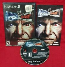 WWE Smackdown Vs Raw 2005 Playstation 2 PS2 Game Working Cena Orton Mysterio -