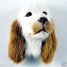1 Red English Setter Furry Dog Magnet! GoldnOak Animal Magnets.