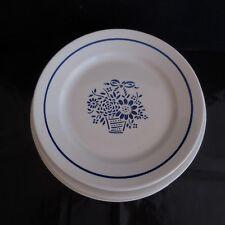 N2792 8 assiettes céramique porcelaine MARGARET VF Paris art déco XXe PN France