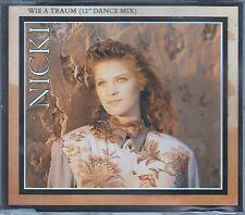 """Nicki CD-SINGLE WIE A TRAUM (c) 1990   / 12"""" DANCE MIX   7:12 min"""
