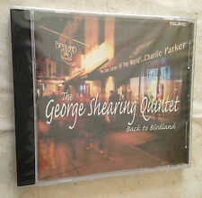 CD GEORGE SHEARING QUINTET BACK TO BIRDLAND CD-83524 JAZZ