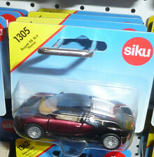 Siku Bugatti Veyron  Burgandy / Black 2 Tone (New & Sealed) 1:55 (Item # 1305)