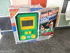 BASEBALL DE-LUXE TABLETOP HANDHELD LCD GAME WESTHEIMER BOXED 1988 RETRO