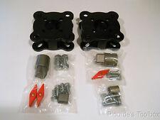 Lot of (2) Milwaukee Iron Butterfly Valve Plate Mount Kits,  8669-202-UWJ