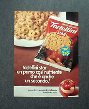 K436- Advertising Pubblicità -1975- TORTELLINI STAR