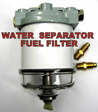 Single CAV Diesel Fuel Water Seperator Filter Assembly With Glass Bowl