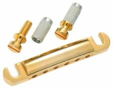 Gotoh GE-101ZG Electric Guitar Stop Bar Tailpiece Gold - Made in Japan