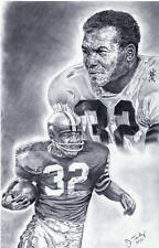 Jim Brown Cleveland Browns poster picture print art