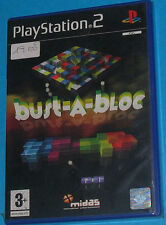 Bust-A-Bloc - Sony Playstation 2 PS2 - PAL New Nuovo Sealed