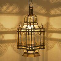 Oriental Laiton Suspensions Marocaine Suspension Lanterne Mola H65cm