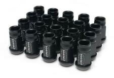 Skunk2 Forged Black Series Lug Nuts Set of 20 M12 x 1.5 for Honda/Acura