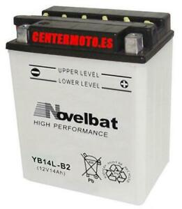 BaterIa Novelbat YB14L-B2 Combipack (con electrolito) 12v 14Ah 175A
