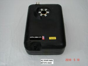 Gas Tank 15 Gallon Jeep CJ5 CJ7 CJ8 1978-1986 Polyethylene ak 17722.11 8128585PL
