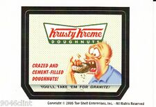 SILLY SUPERMARKET LIKE WACKY PACKAGE KRUSTY KREME PROMO