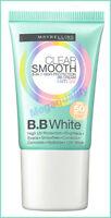 18 ml. MAYBELLINE CLEAR SMOOTH 8IN1 BB WHITE CREAM SPF50 ANTI UV 01 FRESH