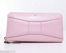 NWT! Kate Spade New York 2 Park Avenue Beau Lacey Cipria Pink Zip Around Wallet