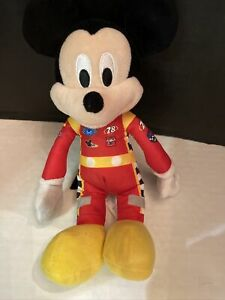 Mickey and the Roadster Racers Mickey Plush in Red Racing Suit