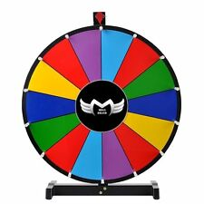 "MegaBrand Editable 24"" Color Prize Wheel of Fortune Trade Show Tabletop Spin"