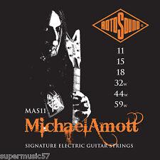 Rotosound MAS11 Michael Amott Signature Nickel on Steel Electric Guitar Strings