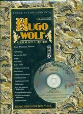 JOHN WUSTMAN-VOCAL/PIANIST HUGO WOLF MUSIC BOOK/CD GERMAN LIEDER RARE NEW SALE!!