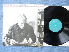 LP Paul Desau Lieder nach Texten Georg Maurer Nova Stereo 885 155 Peter Schreier