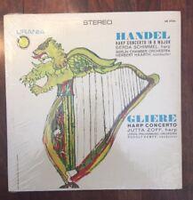 HANDEL GLIERE Harp Concerto Schimmel Haarth Berlin ~ Zoff Kempe Zeipzig Urania