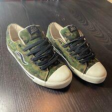 ADIO Footwear Skateboarding Mens Sz 10.5 Camo Shoes Clam Shell Toe Chucks Style