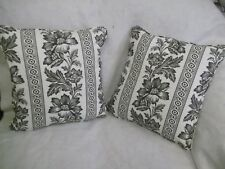 """GWINNET TOILE BY RALPH LAUREN 1 PAIR OF 18"""" CUSHION COVERS"""