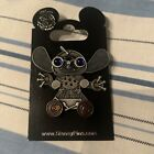 DISNEY  STITCH Pewter Steampunk Mechanical  Pin with Rotating Wheels NOC
