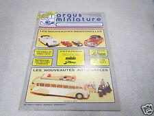ARGUS DE LA MINIATURE N° 107 1988cotations ELIGOR SOLIDO TEKNO LES MOTOS SCHUCO*