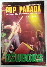 POP PARADA - Ladin DZUBOKS -  RARE UNIQUE Ex-Yugoslavia Full Album 100 stickers