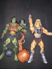 "Masters of the Universe MOTU Classics figure lot giants TYTUS & MEGATOR 12"""