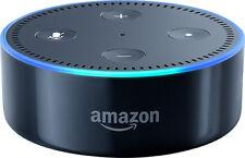 Punto de Eco Amazon 2nd Generación Negro Nuevo Sellado del altavoz
