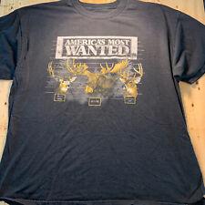 Vintage Americas Most Wanted Deer Shirt XXL