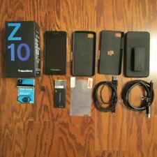 BlackBerry Z10 - 64Gb Black - Unlocked Smartphone - Lots of Accessories