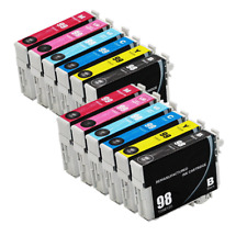 12-Pk/Pack T098 T099 REMAN Ink For Epson Artisan 700 710 725 730 800 810 835 837