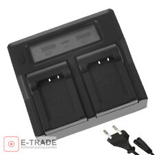 Dual USB Battery Charger For Sony NP-FW50 FW70 FW100 Alpha 33 35 55 NEX3 5 6 7